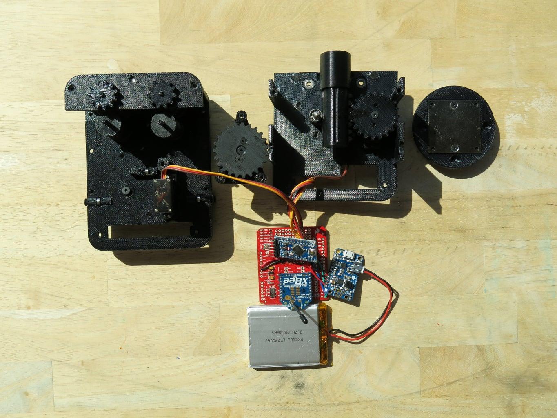 Step Five: Robotic Arm & Rope Marker