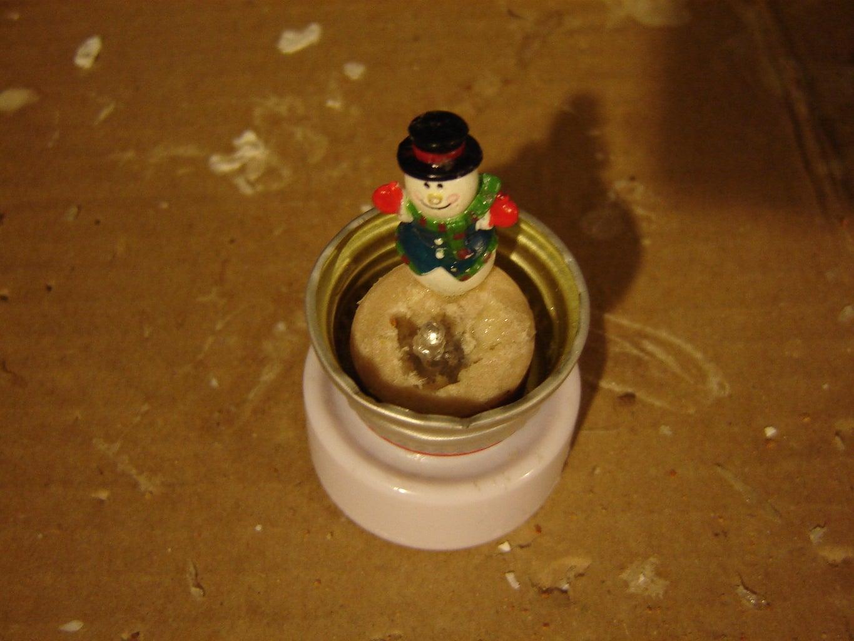 Snowman -the Upright Lightbulb