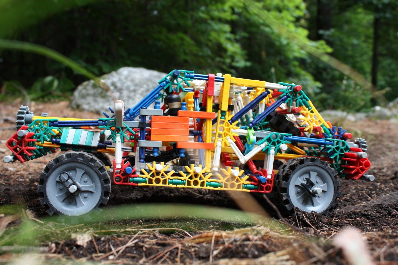 Knex Rally Car 2