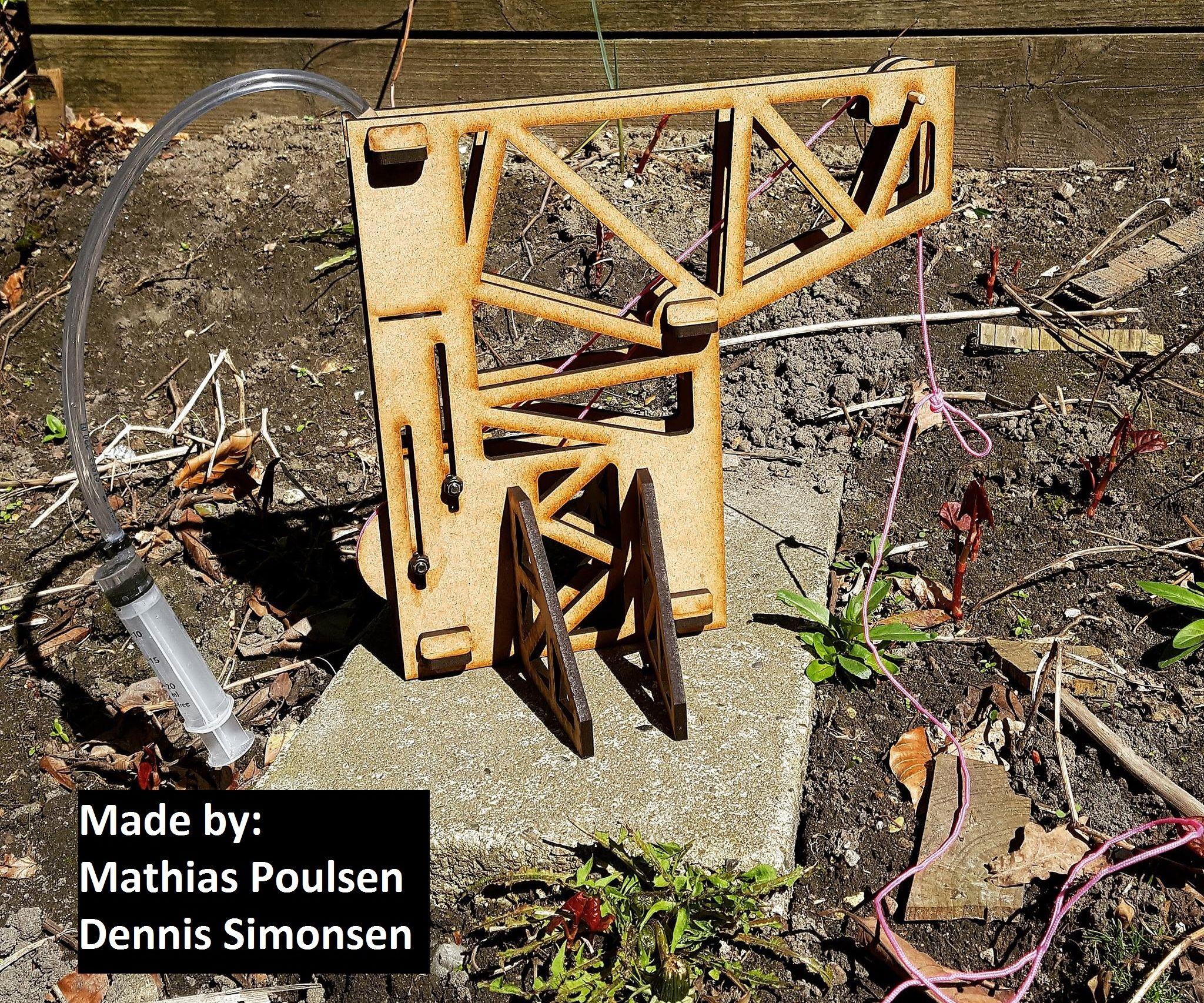 Hydraulic Crane (Syringes) By: Mathias & Dennis