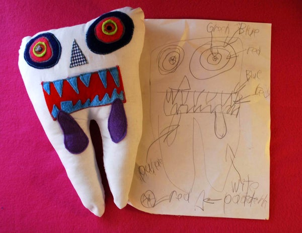 Tooth Monster Pillows