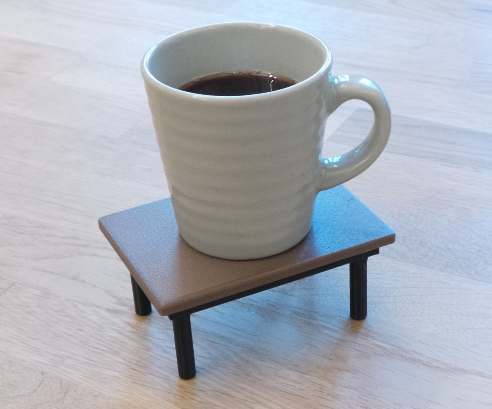 3D-printable coffee table (coaster)