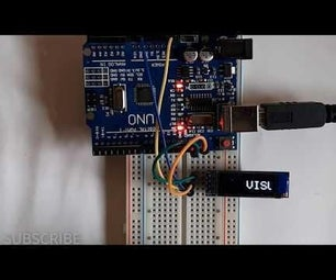 """How to Scroll the TEXT on I2C 0.91"""" 128X32 OLED DISPLAY"""