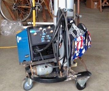 My MIG Cart