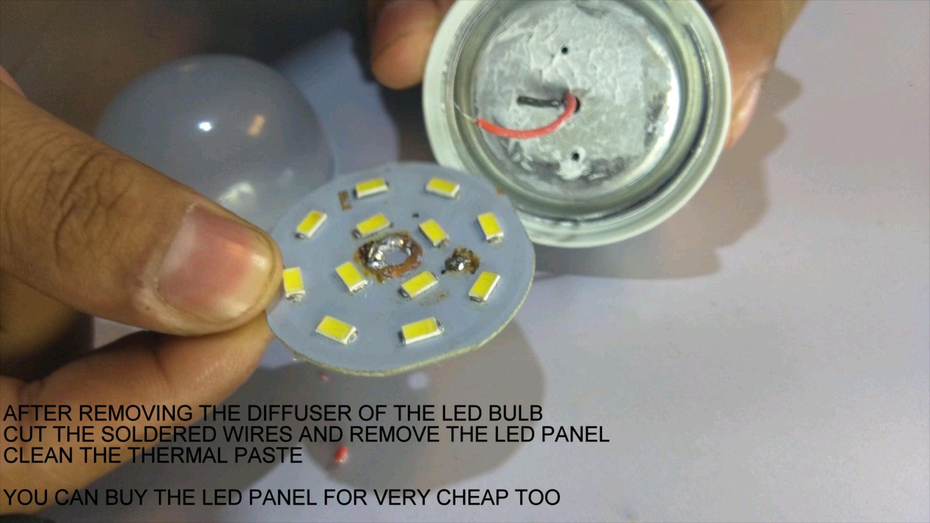 PREPARING THE LEDS