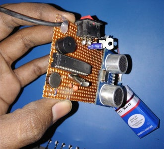 Parts Required for Haptic Proximity Module: