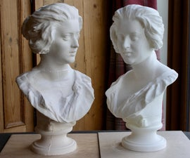 How to Plaster Cast a 3D Printed Sculpture on a Budget