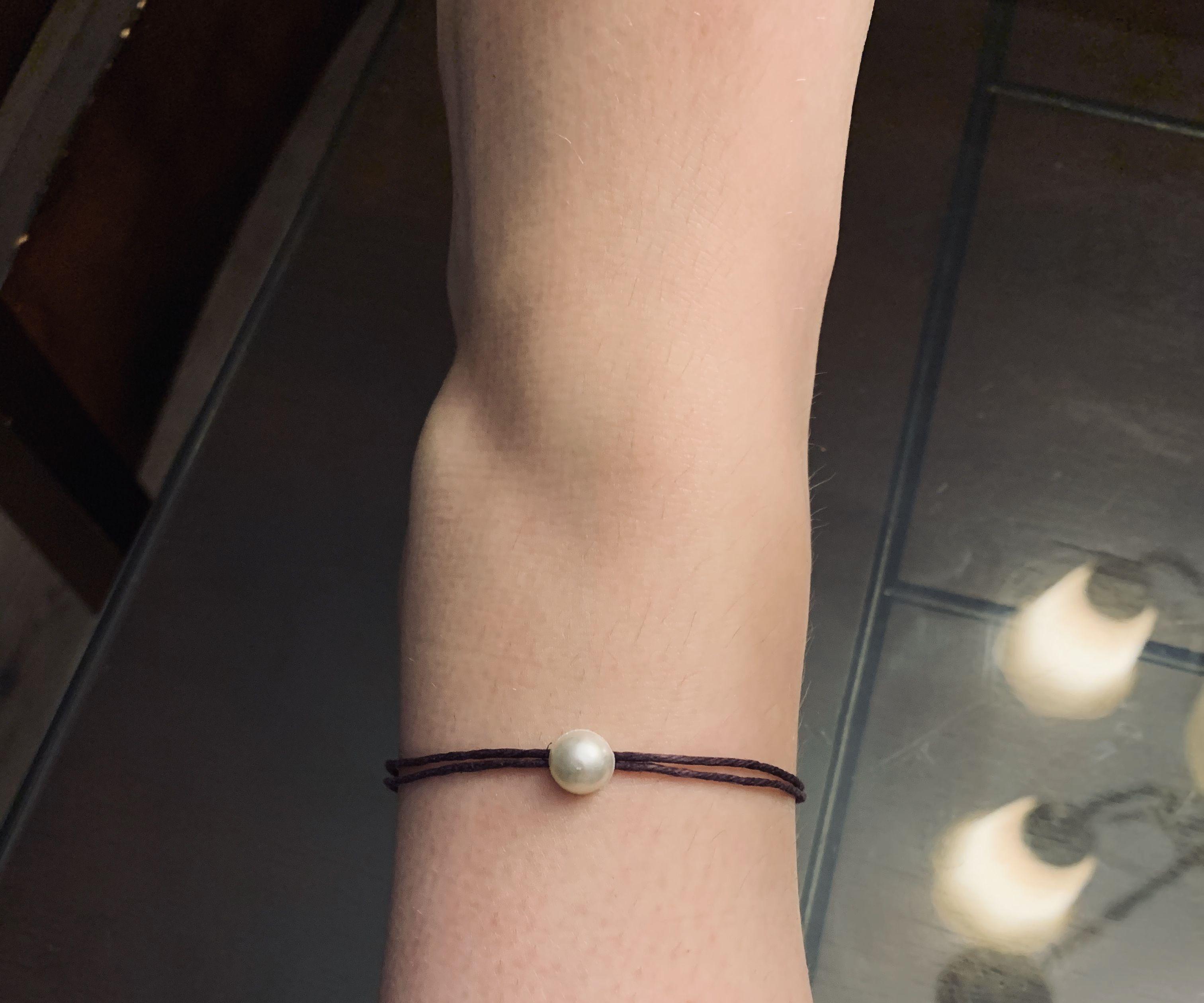Pearl Anklet & Bracelet