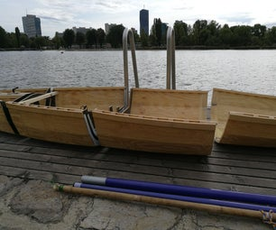 11' Sailing Dinghy for the Trunk