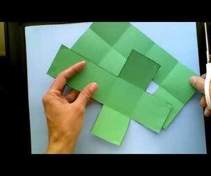 拉起多面体:立方体