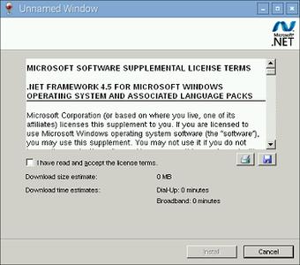 Install .NET Framework. Part 2: Version 4.5