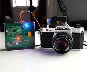 Remote Shutter Circuit : Pentax K1000 Film Camera