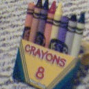 pencil, crayon or marker art stand