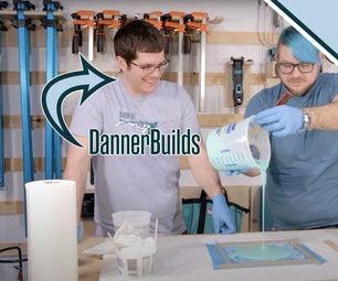 环氧树脂浇注用有机硅模具的简易制作