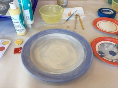 Painting the Plate