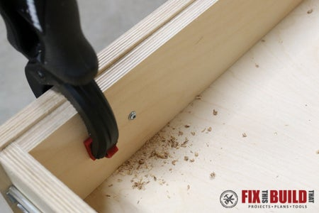 Build and Mount the Drawer