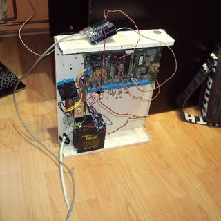 House Alarm Internet Dialer for Aritech With Arduino