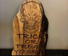 Trick or Treat Yo Self Tomb Stone