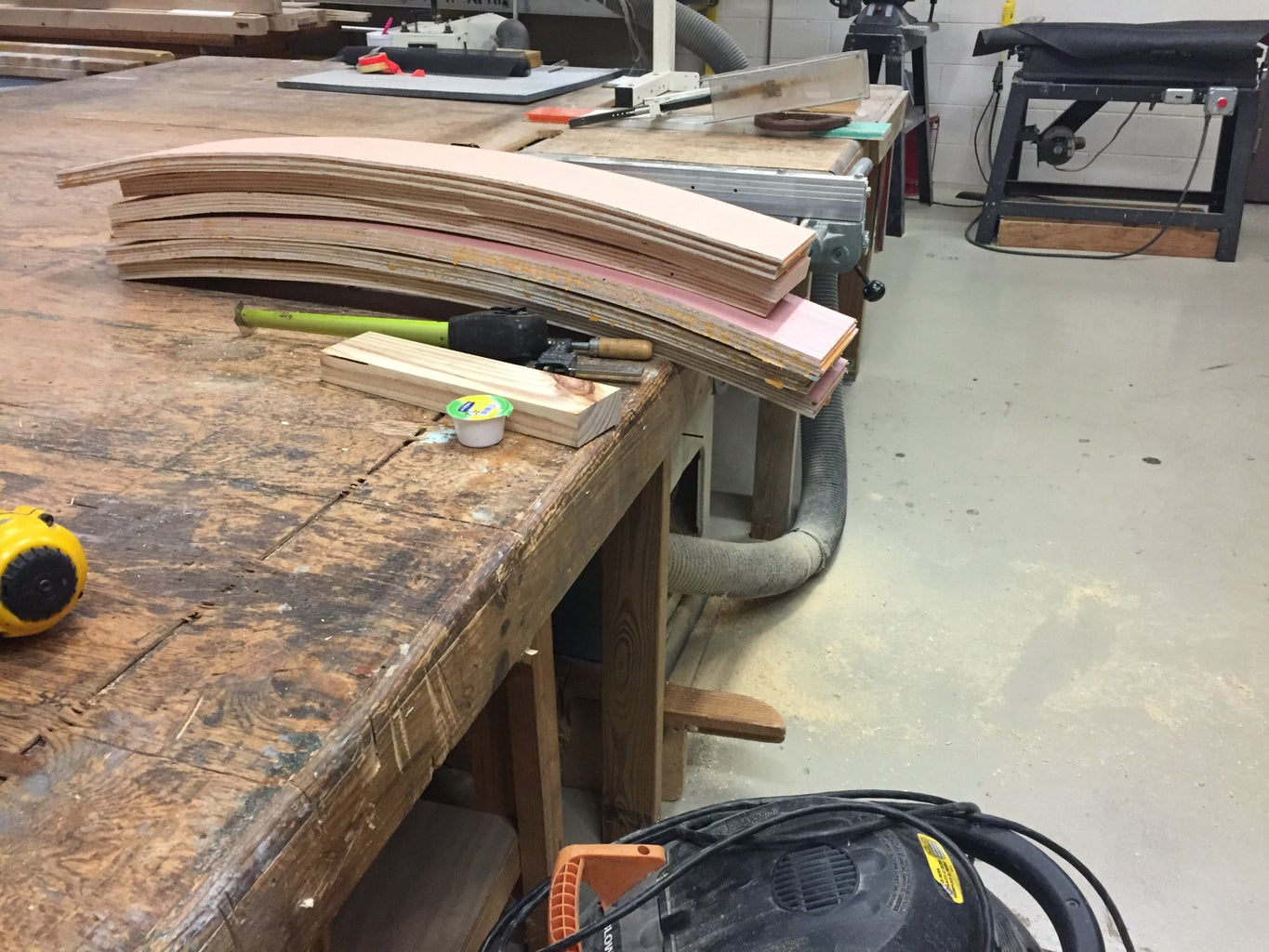 Making Curved Arms