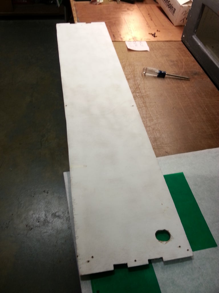 Cutting the Back Access Panel