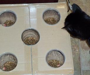 Stimulating Cat Food Bowl