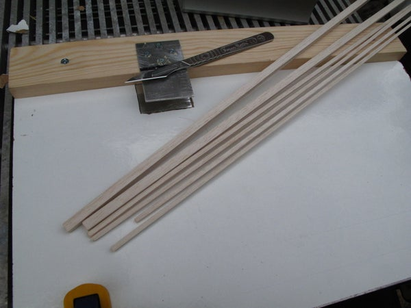 BALSA WOOD Strip Cutter