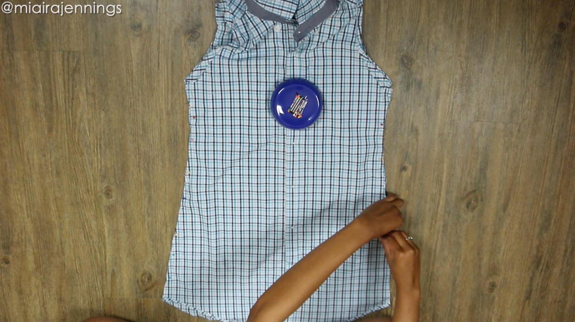 Pin Dress Sides