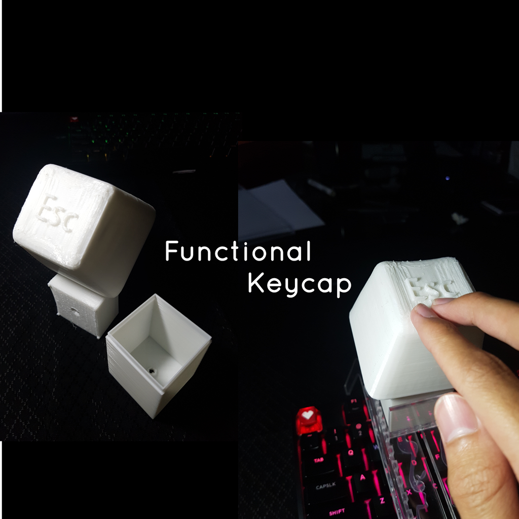 Functional Keycap Container