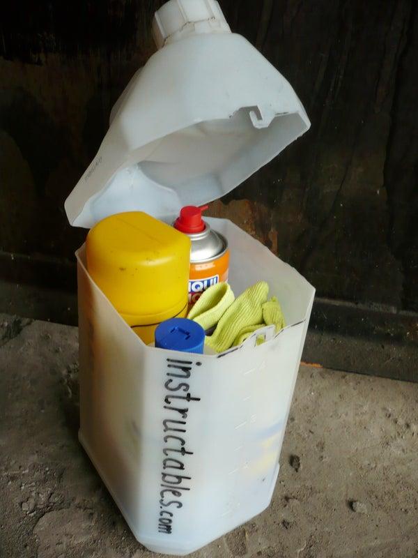 Upright Bottle Storage Case
