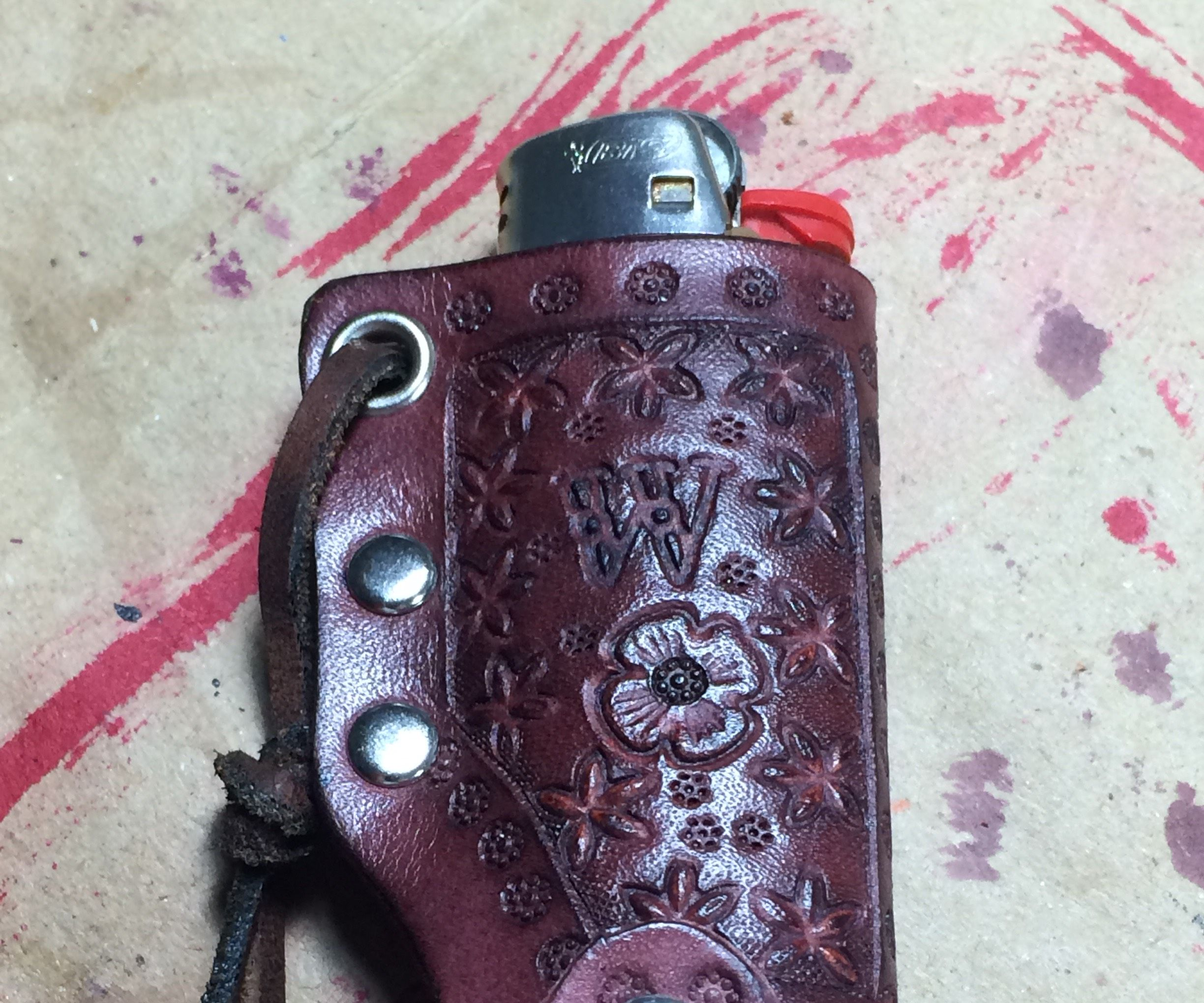 Leather Lighter Holster