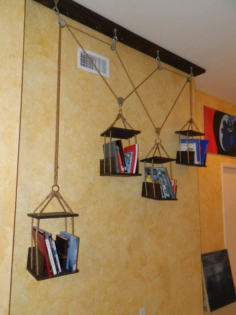 Hanging / Moving Book Shelves