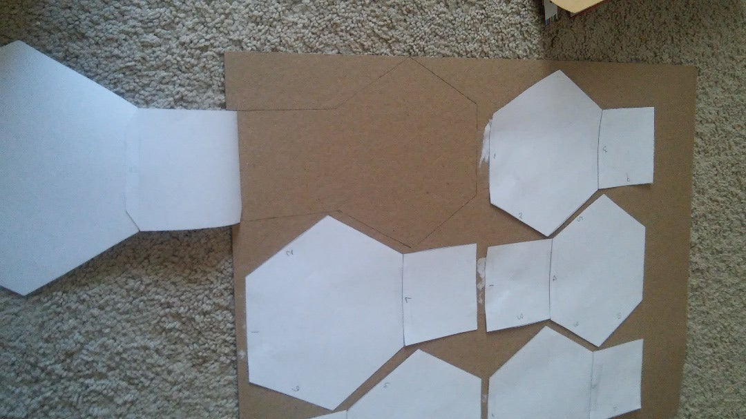 Trace and Cut Out Pieces