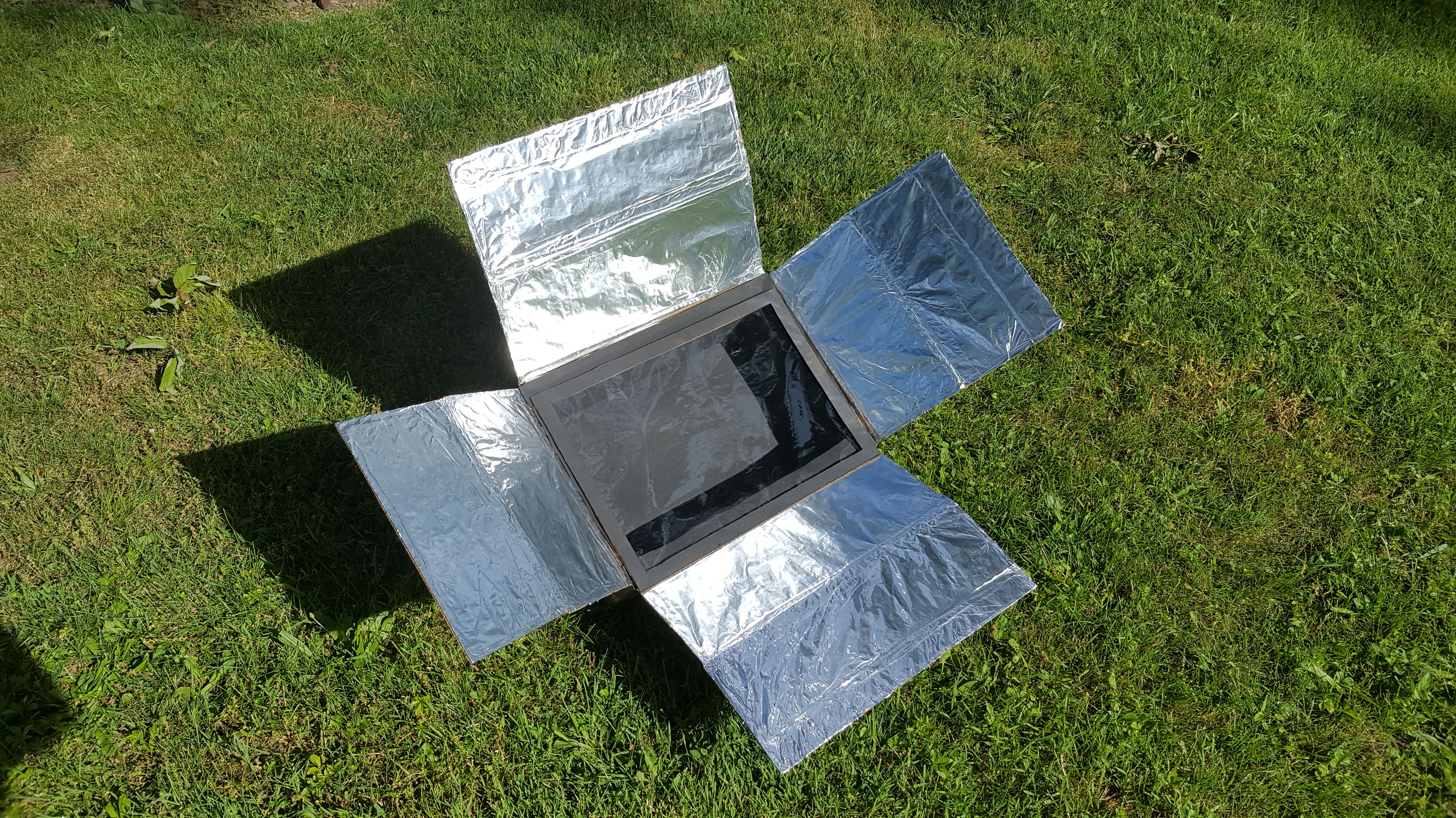 Flat Pack Solar Oven (200°+)