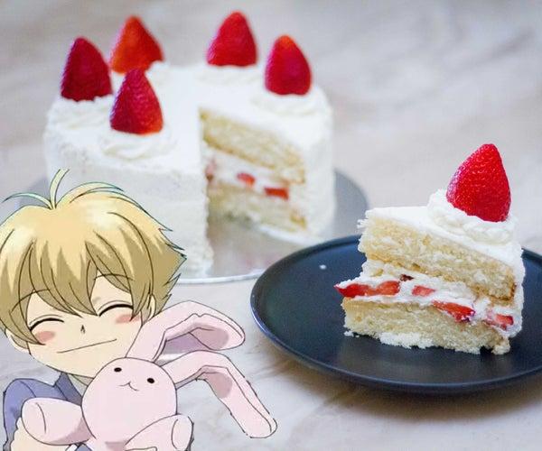 Honey Senpai's Strawberry Shortcake