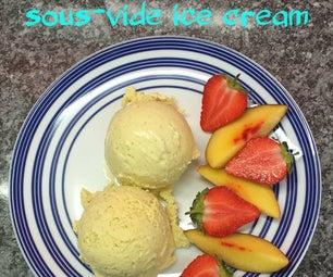 Sous-vide Ice Cream
