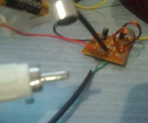 Make a 1.5v Single-Transistor FM Transmitter