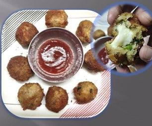 Potato Paneer Cheese Balls