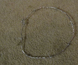 Barbed Wire Necklace and Bracelet