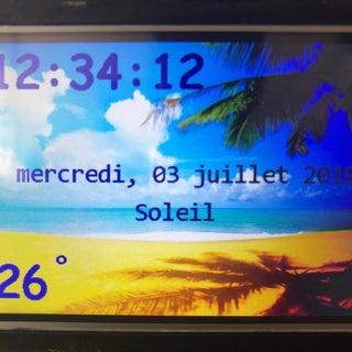 Raspi-Nextion Weather Clock