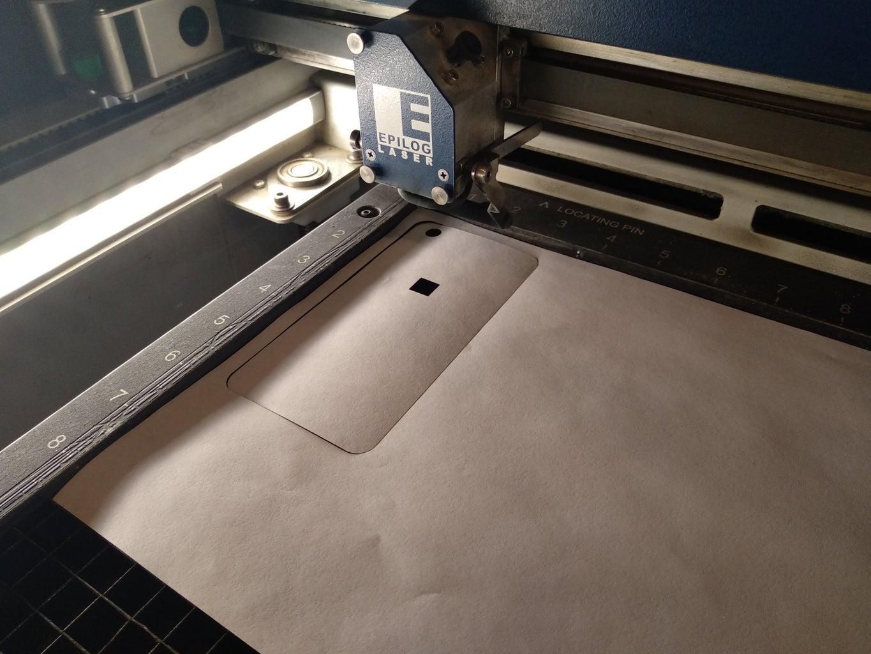 Design the Engraving: Laser Cut the Model