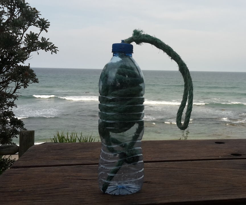 clothes line in a bottle!
