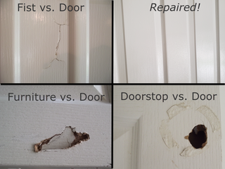 How To Fix A Hole In A Hollow Core Door : 7 Steps (with Pictures) - Instructables