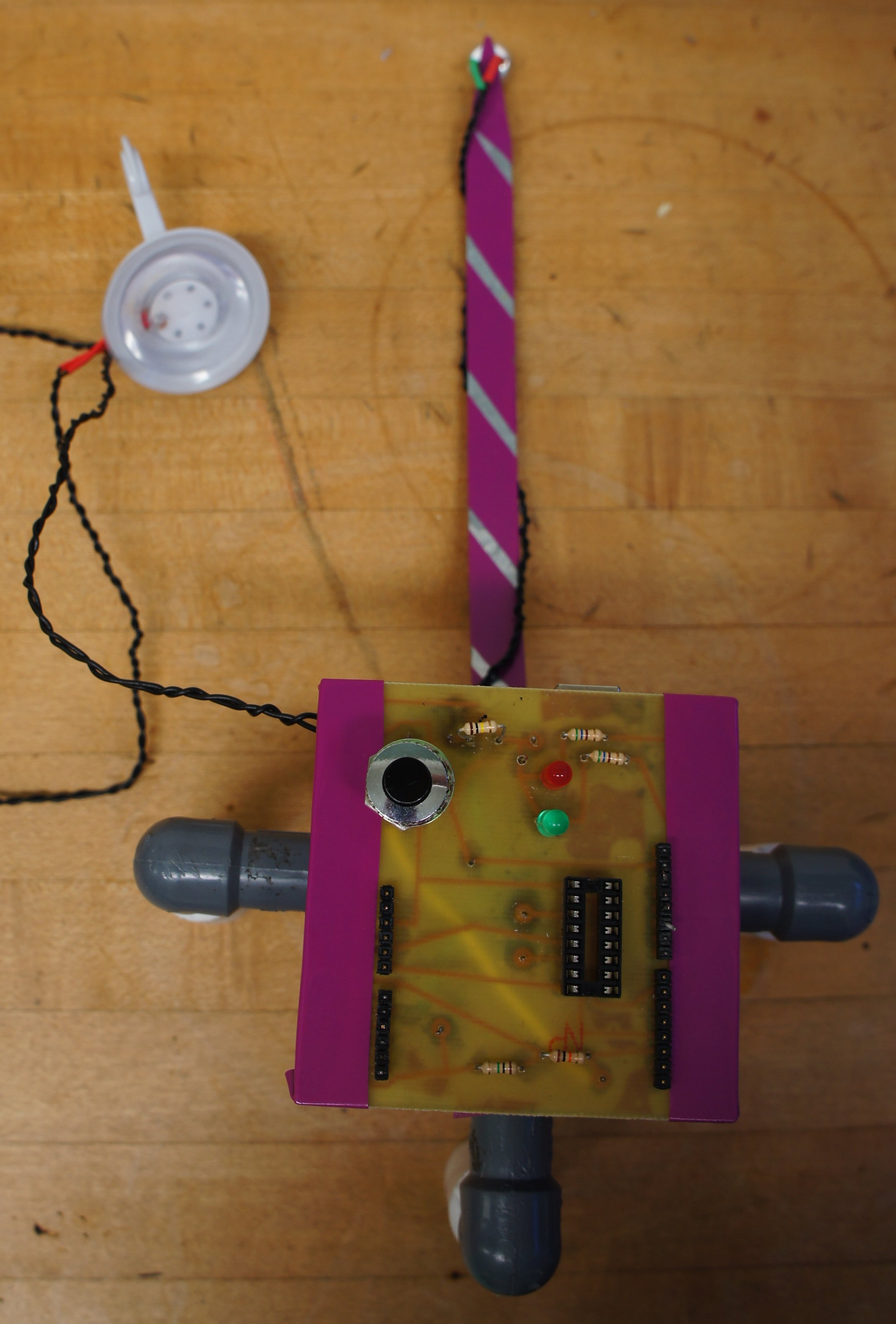 Arduino Light & Knock Detecting Door Lock