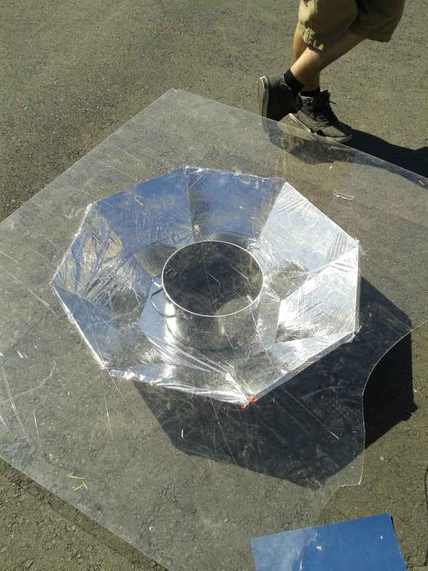 How to Create an Omnidirectional Solar Cooker!
