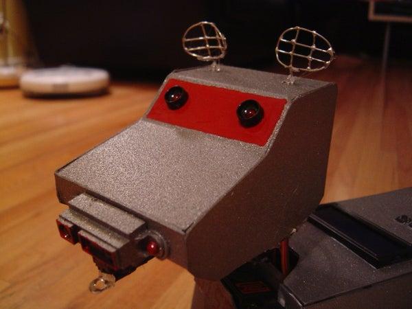 K-9 the Autonomous Robot Pet