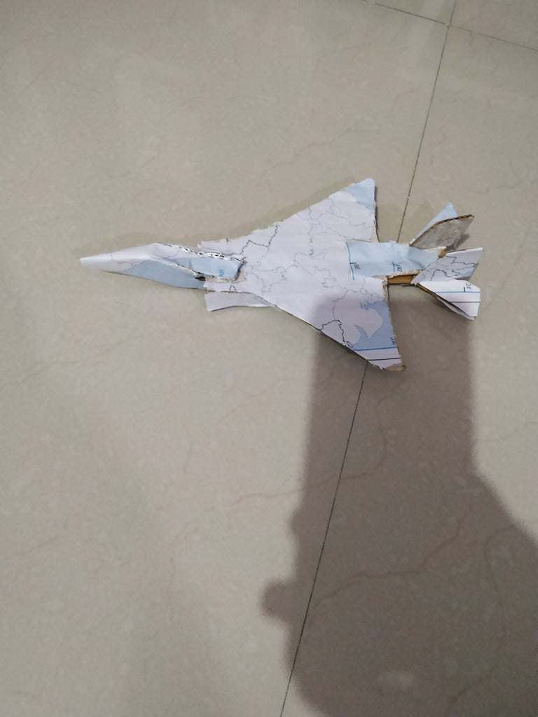Map Jet Plane