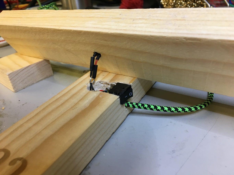 Solder Electronics, Cut Wood