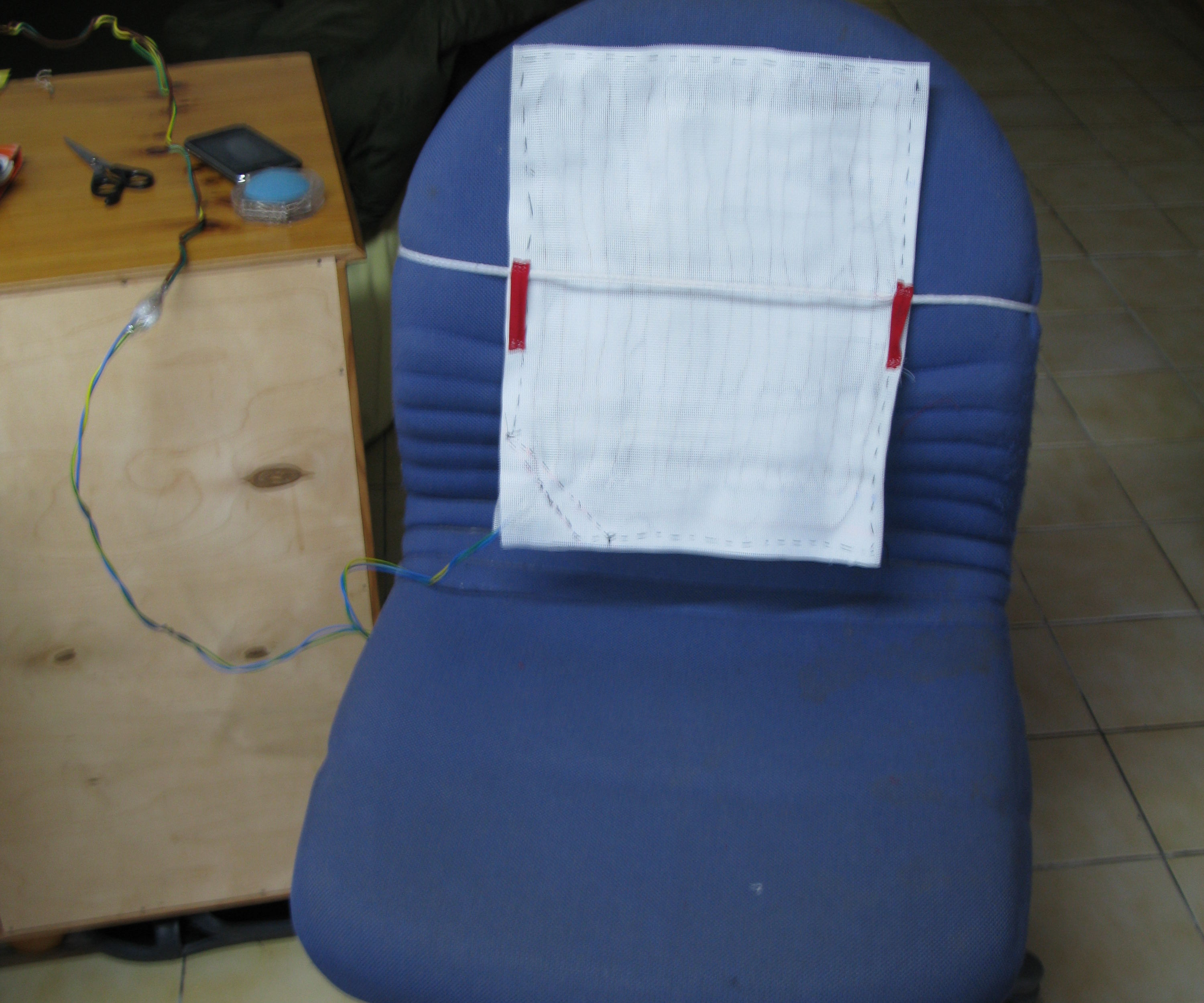 DIY Heating pad - (small electrical blanket)