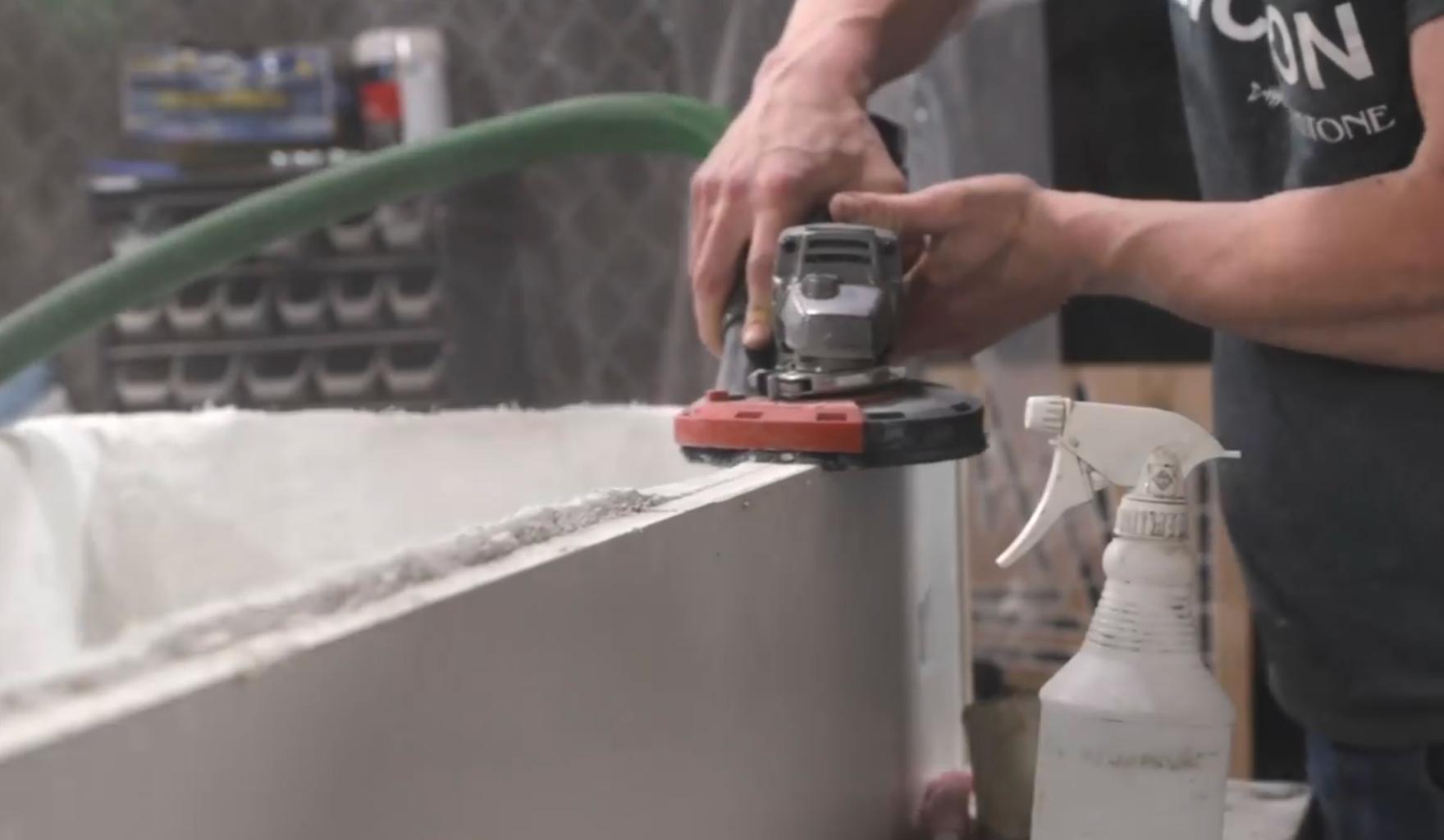 Demolding the Concrete