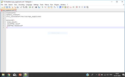 Configuring the OS